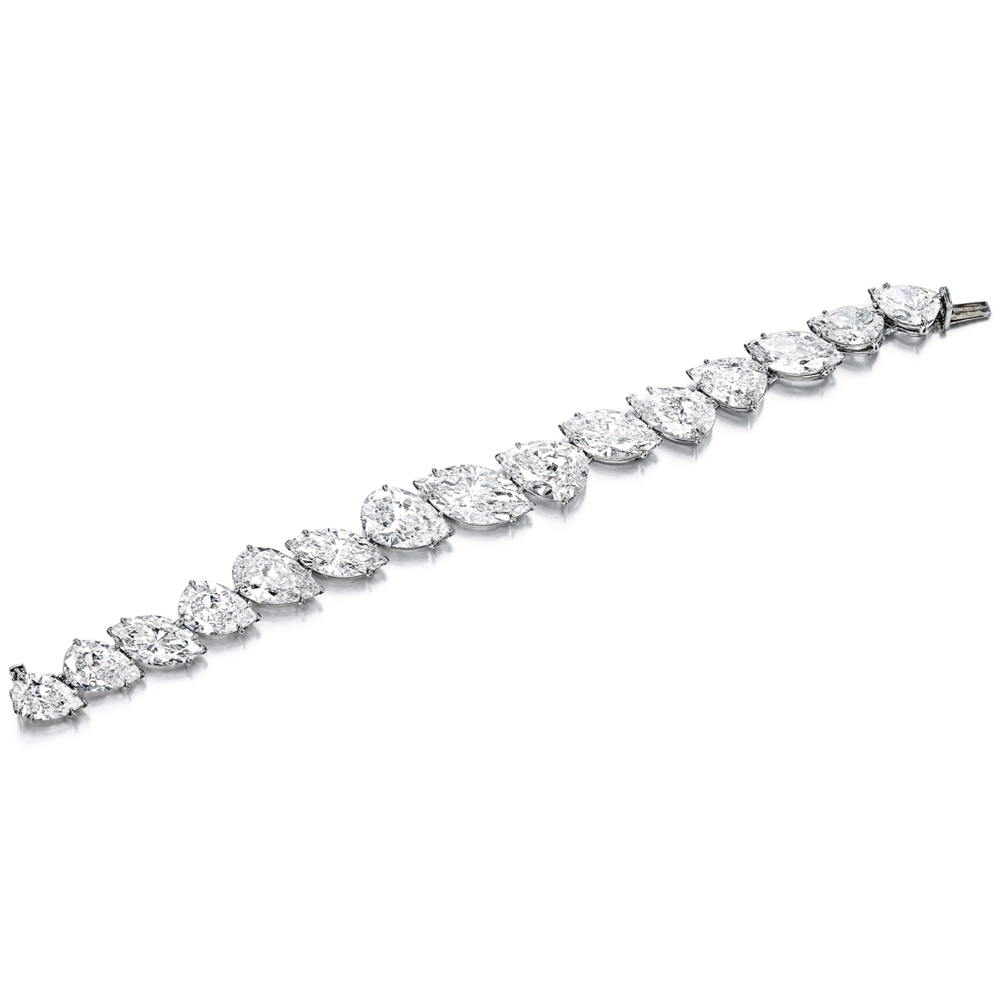 product bracelet solitaire marquise la diamond