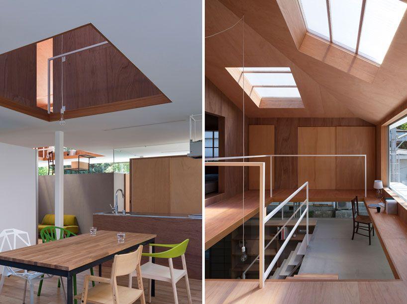 tato architects house in kawanishi designboom