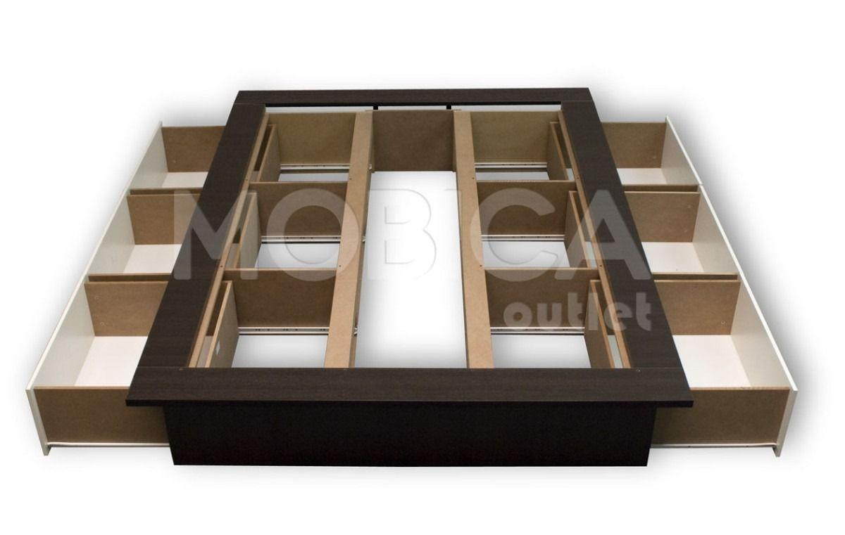 Pin de may forlopez en deco ideas pinterest camas for Como hacer una base de cama king size