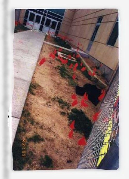 Columbine Crime Scene Photos