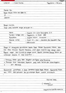 Contoh Format Surat Lamaran Kerja Yang Benar Contoh Surat