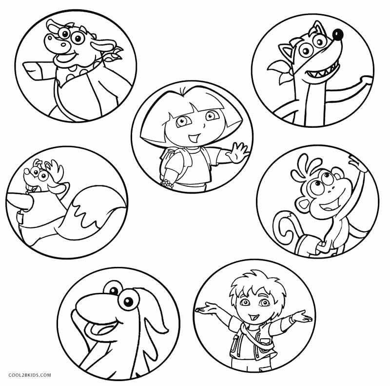 Nick Jr Coloring Book Lovely Free Printable Dora Coloring Pages For Kids Dora Coloring Christmas Coloring Pages Nick Jr Coloring Pages