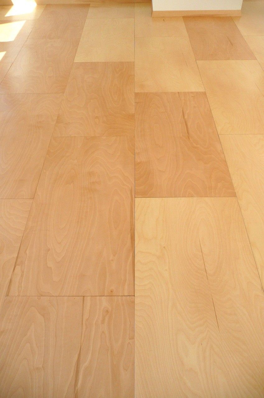 Light Brown Floor Paneling Using Plywood For House Interior Extraordinary Plywood Flooring Ideas Inte Plywood Flooring Hardwood Floors Wood Floors Wide Plank