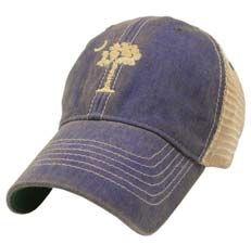 fa1b4bdd South Carolina Palmetto Tree Legacy Old Favorite Adjustable Mesh Hat ...