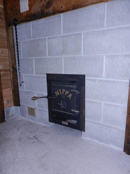 Nippa Wb22 Sauna Stove With External Feed Sauna Outdoor