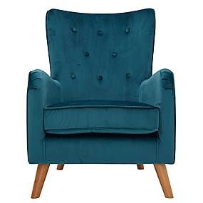 Fransen Peacock Blue Chair In 2020 Dining Room Chair