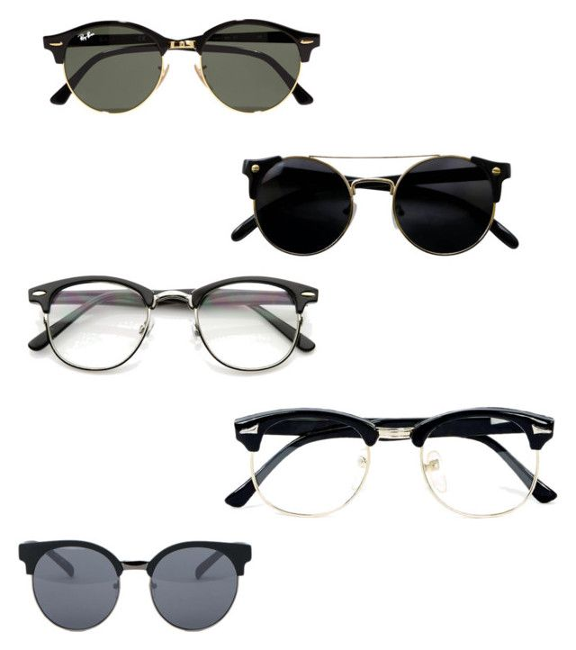 Untitled #18 by stephanie-fh on Polyvore featuring polyvore, Ray-Ban, ZeroUV, Quay, Topman, fashion, style and clothing