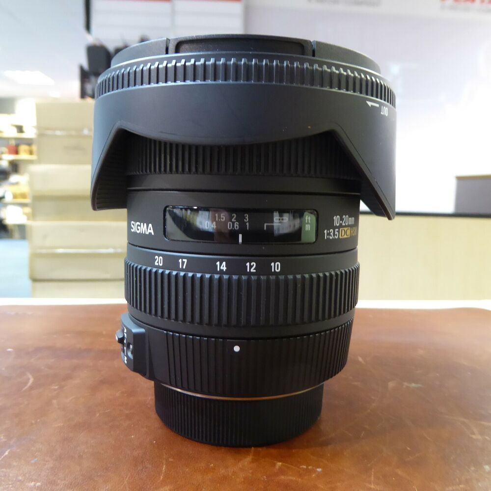 Used Sigma Dc 10 20mm F3 5 Lens In Nikon Fit 1 Year Gtee Category 10 Things