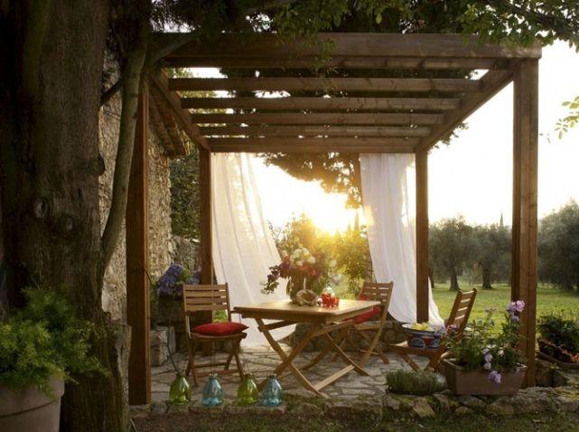 Pergola romantique leroy merlin | PERGOLAS ,TONNELLES | Pinterest ...