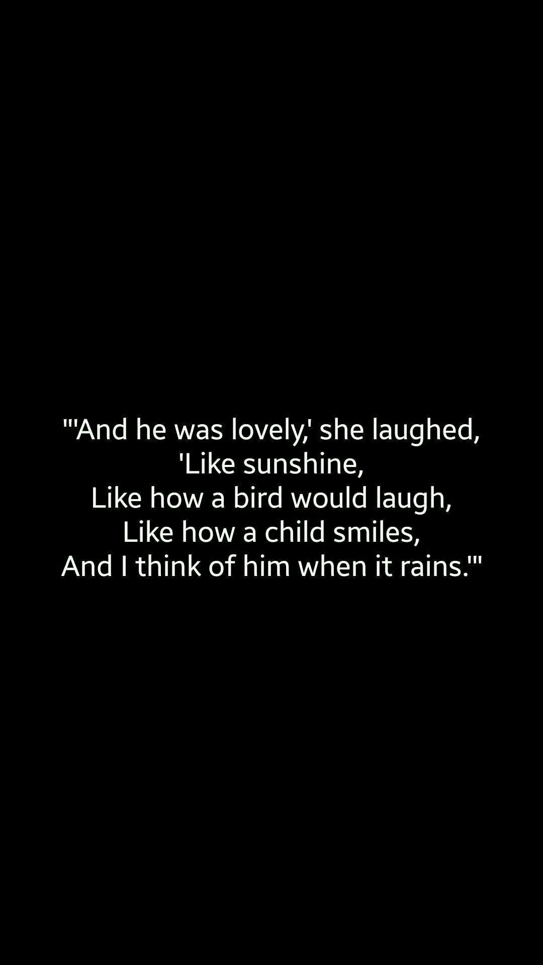 Love Bird Quotes By Karisaskingdom Love Bird Rain Sunshine Sad Miss Him