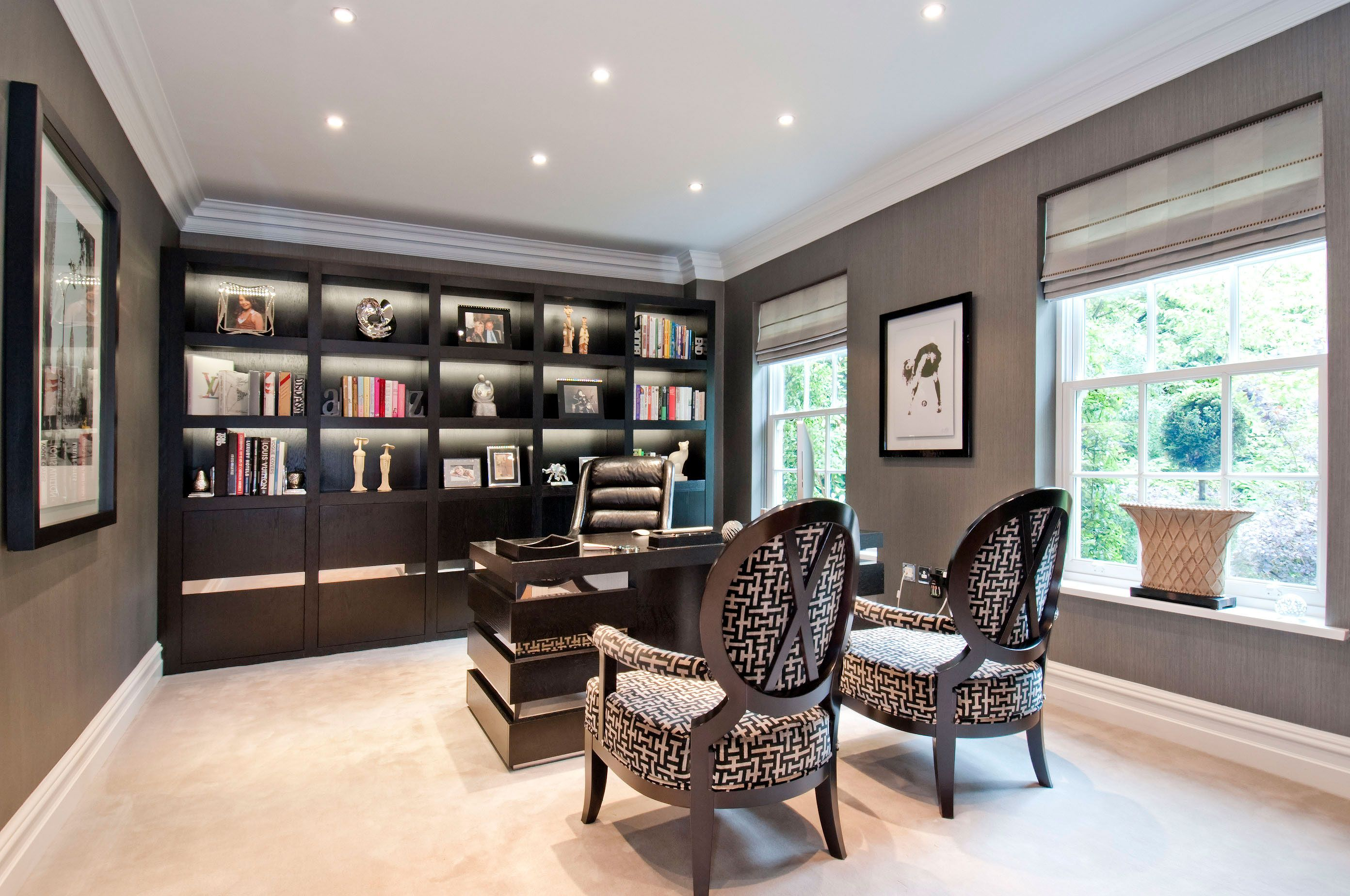 At The Wood Works we design bespoke home study furniture for ...