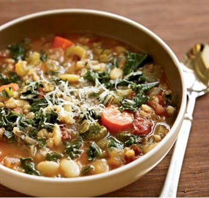 Organic Gardens Network™: Soupy Sunday: Lima Bean, Barley & Vegetable Soup