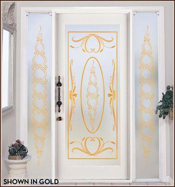 Ritz In Color Privacy Film Wallpaper For Windows Glass Doors Interior Sliding Glass Door Decor Design
