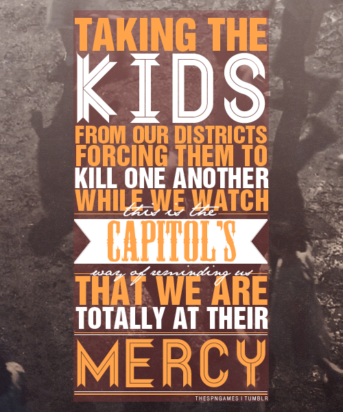 the hunger games dystopian quotes