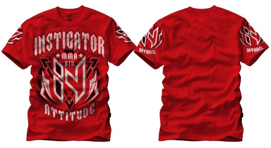 Create a t-shirt (crew or v) for new brand identity of Crossfit/MMA Athletic Line. by de4