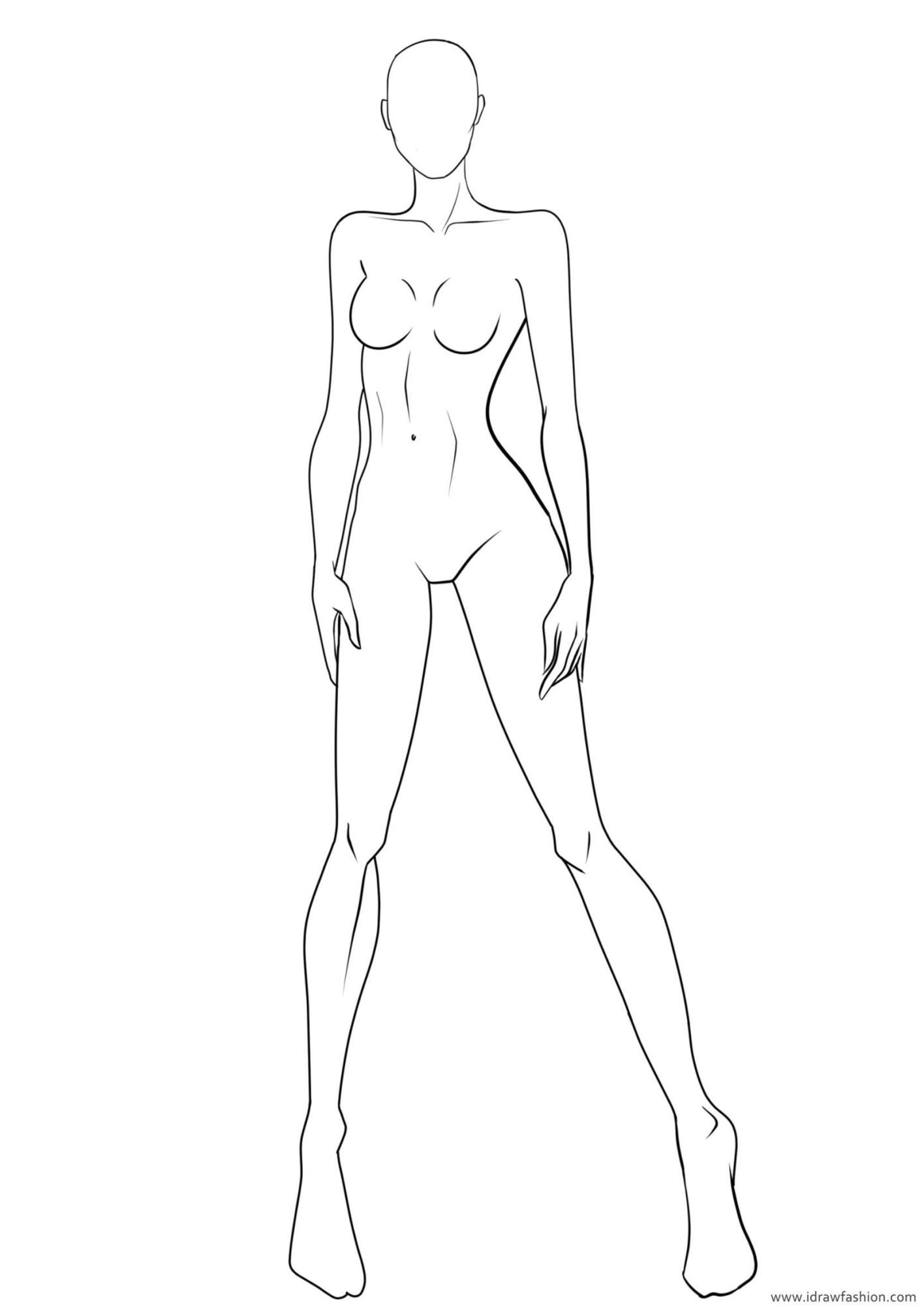 Photo of Figure Template 21 – I Draw Fashion