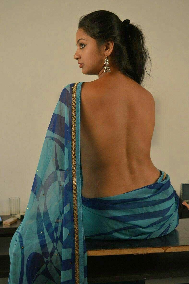 Indian Lady In Sexy Saree