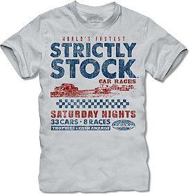 Nascar Clics Strictly Stock Car Racing T Shirt S