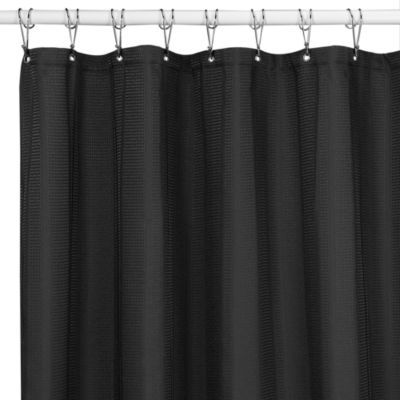 Buy Westerly Black 54 Inch X 78 Shower STall Curtain From Bed Bath