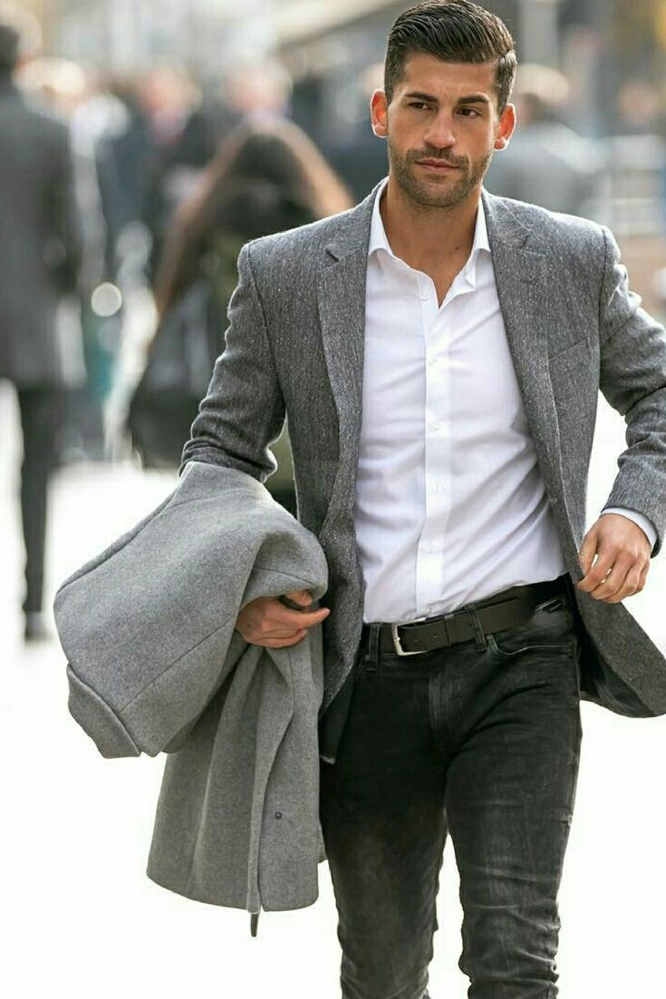2e951eb5b7 Everyday Street Outfit Ideas For Men Smart Casual Work, Mens Smart Casual  Outfits, Business