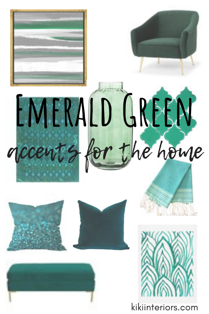 Emerald Green : Accents for the Home images