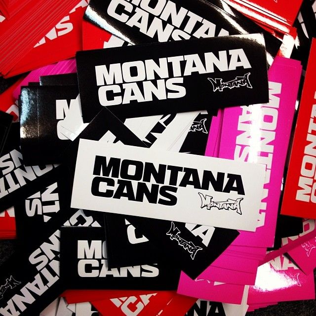 Montanacans stickers