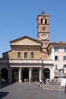 Basílica de Santa María en Trastevere - Wikipedia, la enciclopedia libre