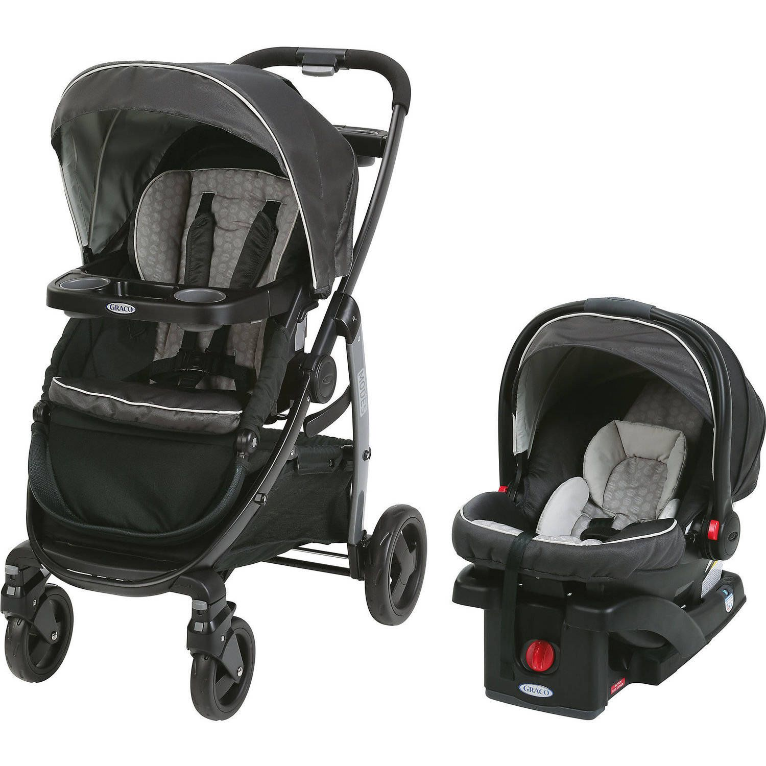 Graco Modes Click Connect Travel System, Car Seat Stroller Combo ...