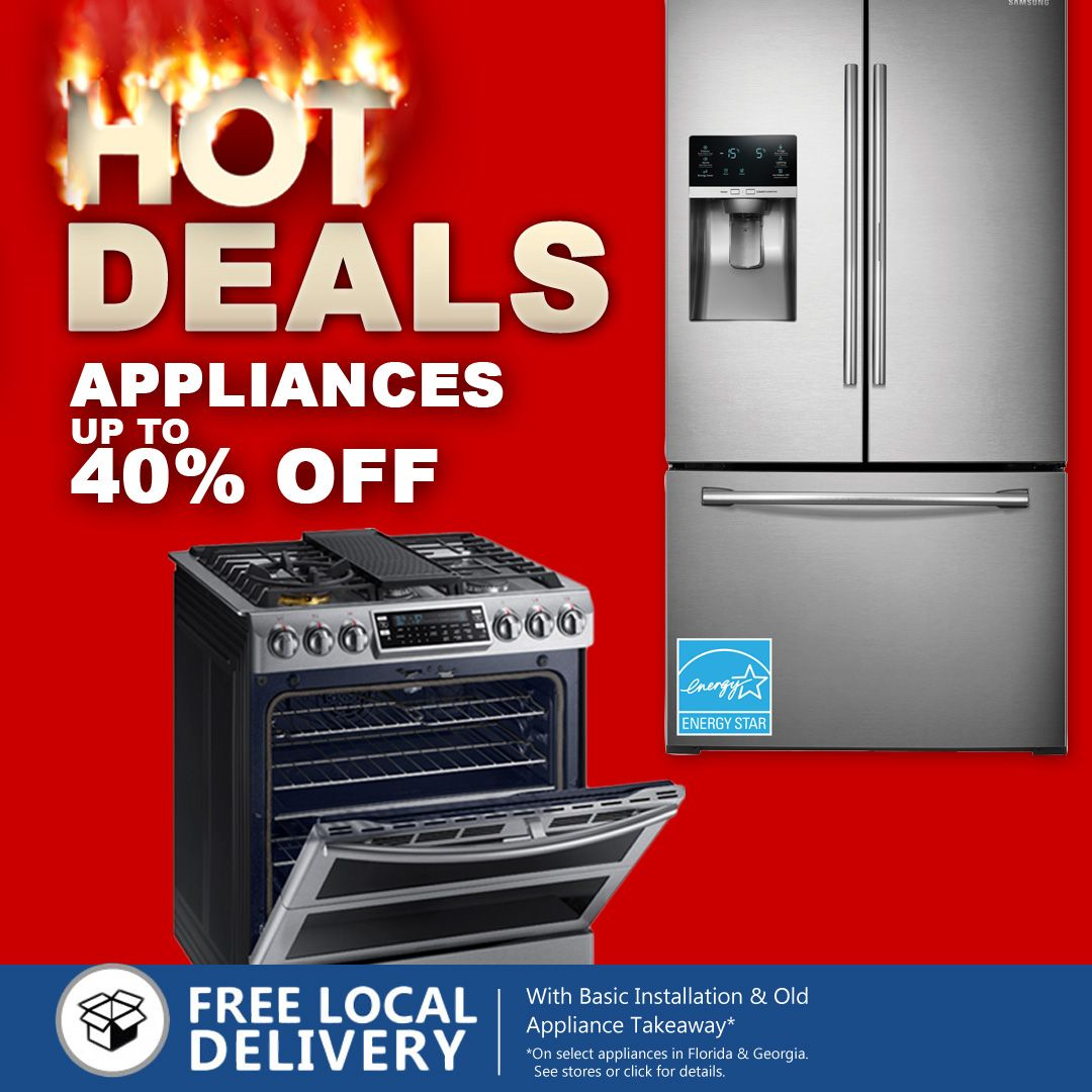 Hot Deals Appliances Up To 40 Off Kitchen Laundry Furniture Small Appliances Home Appliances Appliances Home Tv