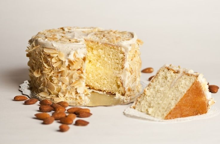 Knotty Pine Cambridge Buttered Almond Cake Yummmy With