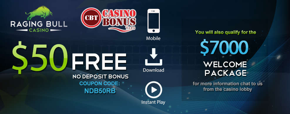 50 No Deposit Bonus At Raging Bull Casino Exclusive Bonus Code