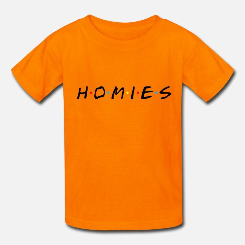 Homies black letter Kids' T-Shirt | Spreadshirt
