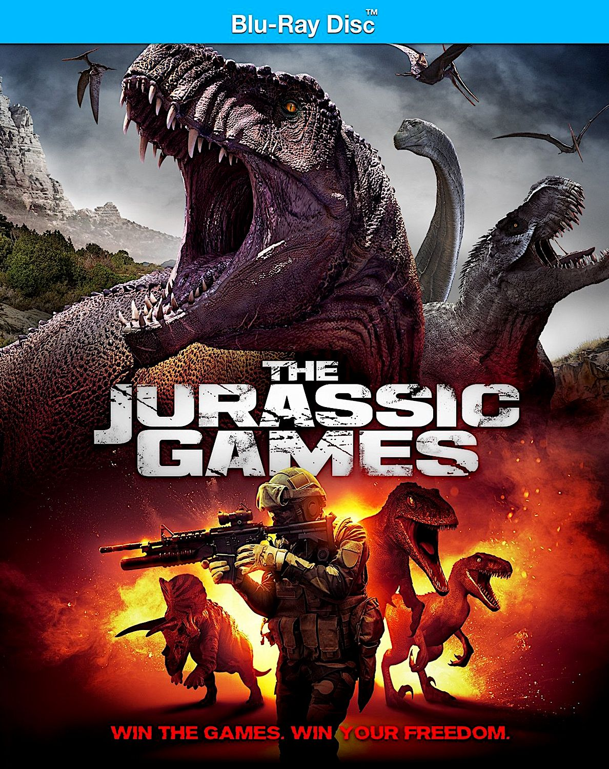 The Jurassic Games Blu Ray Uncork D Entertainment Free Movies Online Movies Online Full Movies