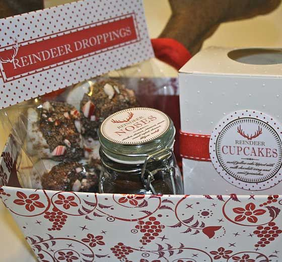 Homemade Christmas Gifts for Family - Reindeer Selection - Click pic