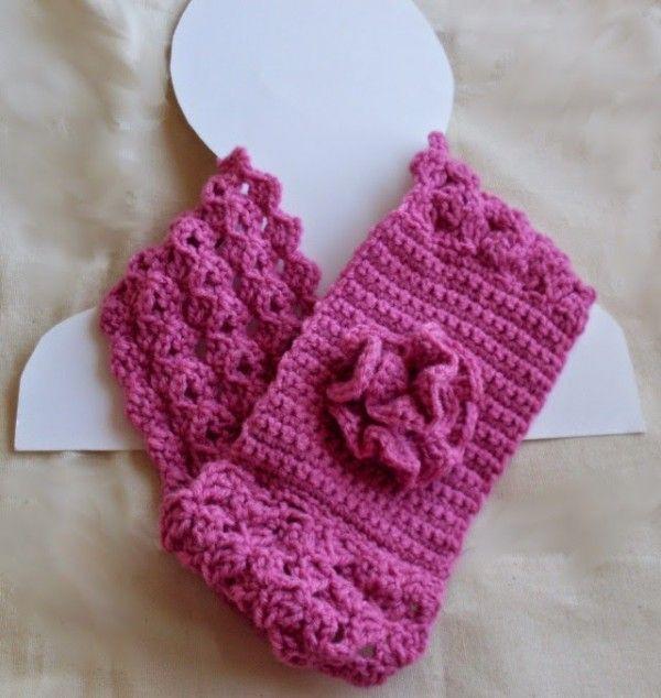 crochet scarflette pattern | Crochet Scarves | Pinterest