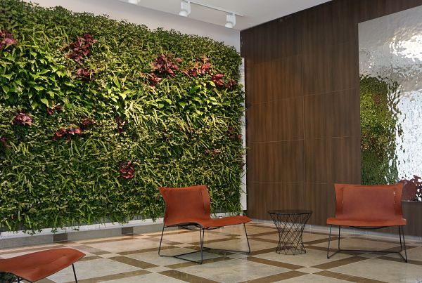 Living Walls Bring Nature And Privacy