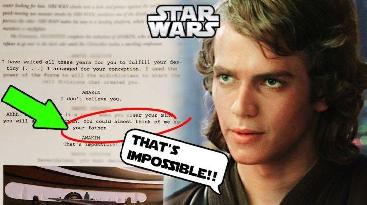 Anakin S Father Revealed In Script Of Revenge Of The Sith Humor Absurdo El Humor Saga