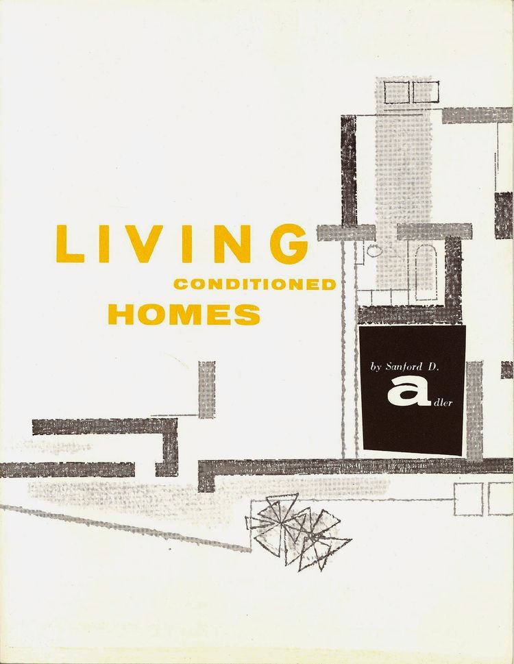 Brochure For Mid Century Living Conditioned Homes 1957 Palmer