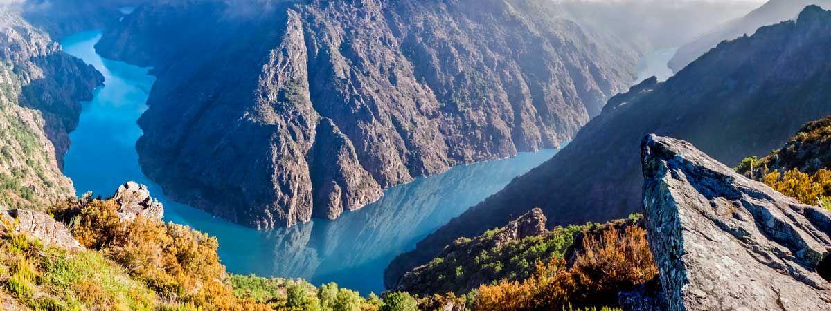 Disfrutar De Los Cañones Del Sil En Ourense Y Lugo Como Llegar Mapas Centros De Información Donde Rutas De Senderismo Lugo Turismo Parques Naturales España