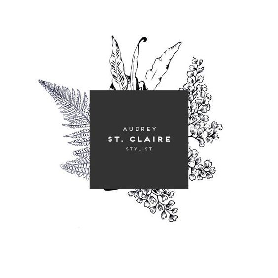 Wedding Branding Ideas: (10) Botanical Logo- Photography Logo- Soap Logo- Stylist
