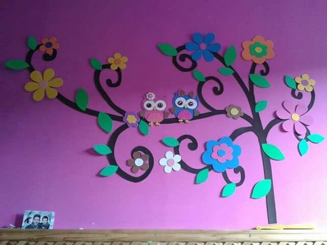 Mural De Goma Evaecho A Manodecoracion Habitaciones Www