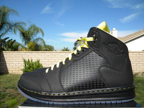3bc01a7d3706 Nike Air Jordan Prime 5 Black and Yellow