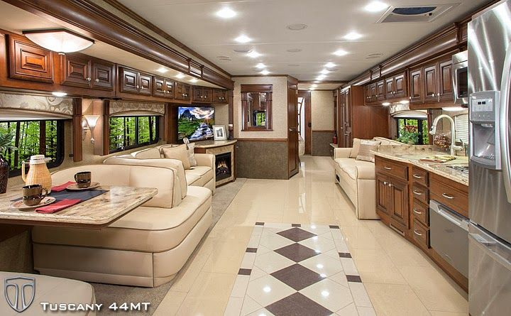 New Luxury Diesel Motorhomes From Thor Motor Coach Impress With