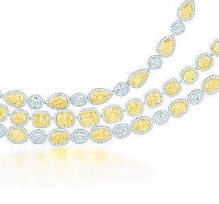 #Tiffany & Co. #Yellow #Diamonds