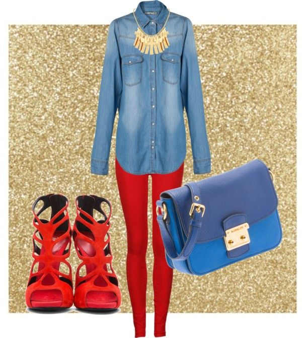 """""""red"""" by chiccato ❤ liked on Polyvore"""