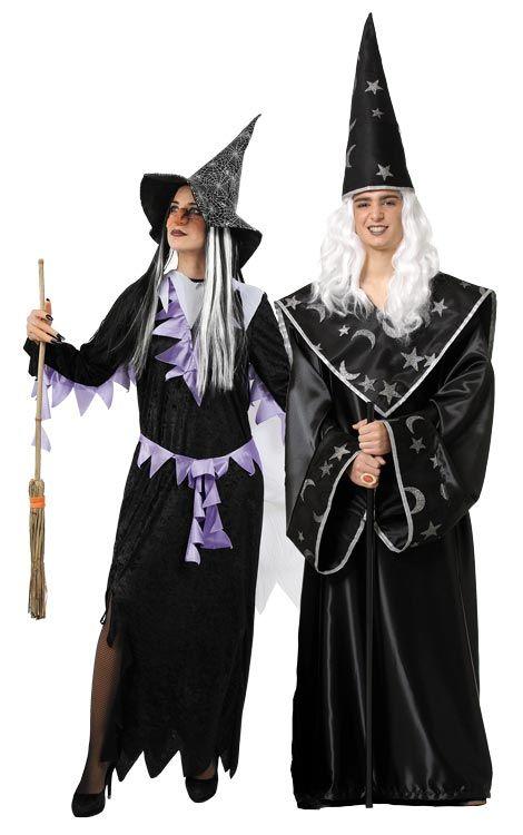 disfraz pareja de brujos hombre y mujer este disfraz de halloween es ideal