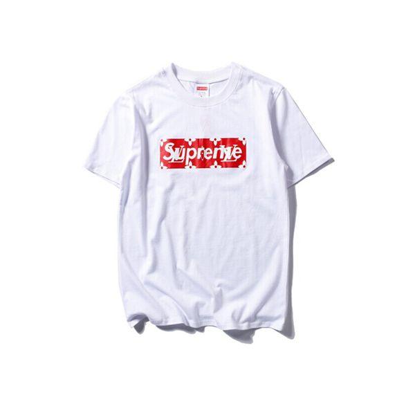 695846be 2017 Hot supreme x Louis vuitton T-Shirt White - £48 | Fashion ...