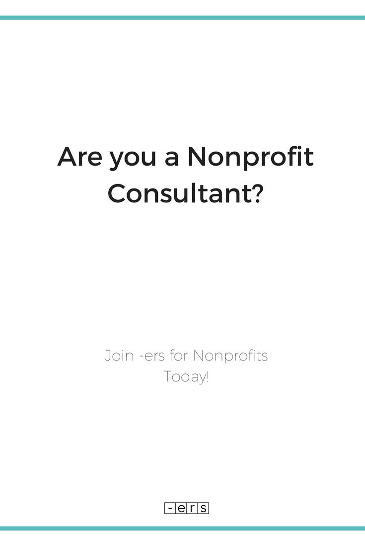 Nonprofit Consultant Nonprofit Career Freelancer Nonprofit Organizations Working With Nonprofit Organizatio Grant Writing Non Profit Nonprofit Organization