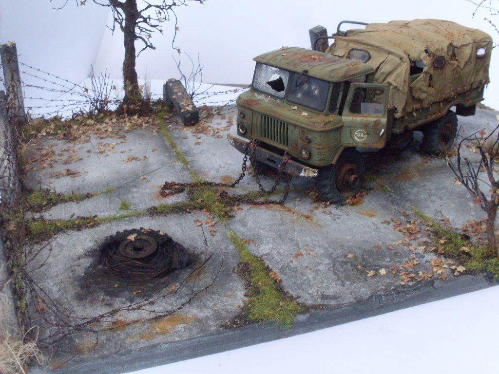 GaZ-66, Western Express+Zvezda, 1/35 scale, by Andrey Efremov, more pics: http://karopka.ru/community/user/12013/?p=5=298952