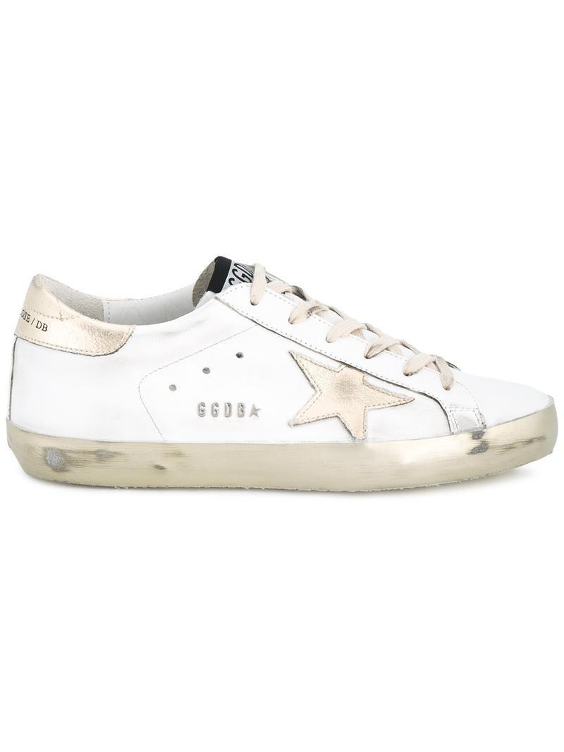 GOLDEN GOOSE Zapatillas Para Mujer Nero e Oro Size: 40 MdFm9